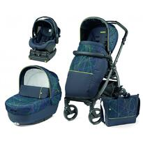 Carucior 3 in 1 Book Plus Modular, baza i-Size inclusa, New Life, Peg Perego