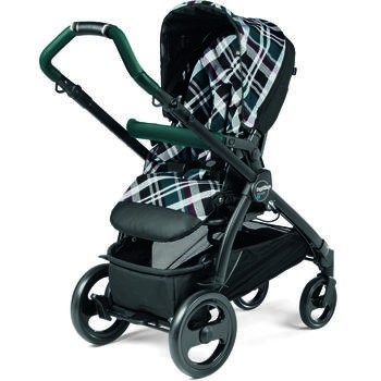 Carucior 3 in 1 Book Plus Modular, Peg Perego, Tartan