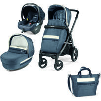 Carucior 3 in 1 Peg Perego, Book 51 S Titania, Lounge, Luxe Mirage, 0 - 22 kg