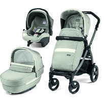 Carucior 3 in 1, Peg Perego, Book Plus 51 Titania Luxe Pure