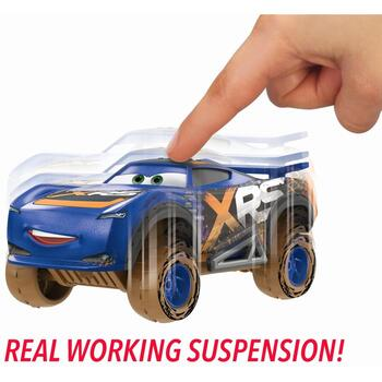 Mattel Cars Xrs Mud Personaje Principale Barry Depedal
