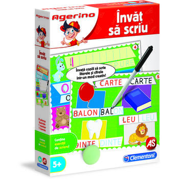 AS Joc Educativ Agerino Invat Sa Scriu