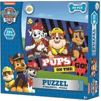 Puzzle Paw Patrol, Chase, Marshal, Rubble, 50 piese Toy Universe ARJ019298A