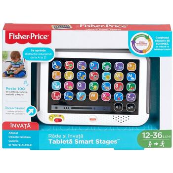 Fisher-Price Jucarie Fisher Price by Mattel Laugh and Learn Tableta in limba romana