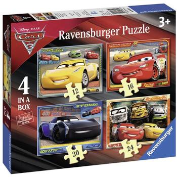 Ravensburger Puzzle Cars,  12/16/20/24 Piese