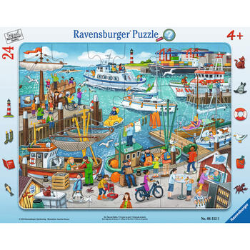 Ravensburger Puzzle O Zi In Port, 24 Piese