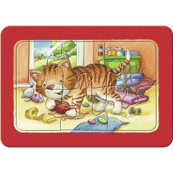 Ravensburger Puzzle Animalute, 3x6 Piese
