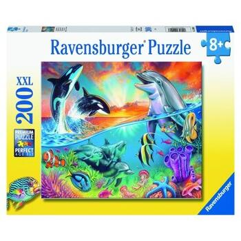 Ravensburger Puzzle Animale Din Ocean, 200 Piese