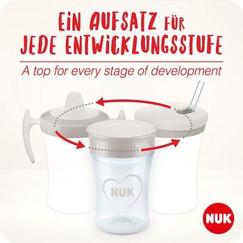 NUK Cana Evolution All-In-1 set roz