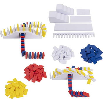 Spin Master Domino Art Set Deluxe 100 Piese Cu Accesorii By Lily Hevesh