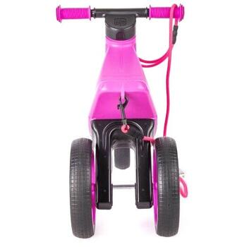 Bicicleta fara pedale Funny Wheels Rider SuperSport 2 in 1 Violet - Mov