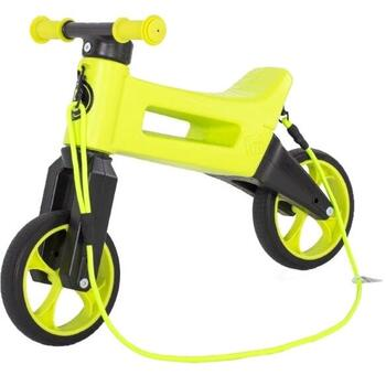 Bicicleta fara pedale Funny Wheels Rider SuperSport 2 in 1 Lime - Verde