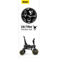 Doona Set Stickere Liki Trike B&W Cool Sketch