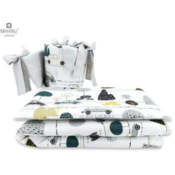 MimiNu - Set 3 piese patut, Childrens Journey Grey