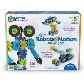 Learning Resources Gears! Gears! Gears! Robotelul in actiune