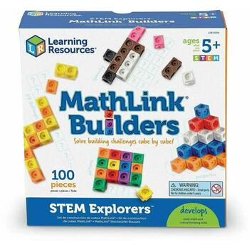 Learning Resources Set MathLink - Constructii 3D