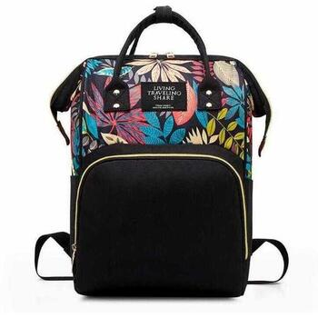 Rucsac multifunctional mamici Leaves Bambinice BN028