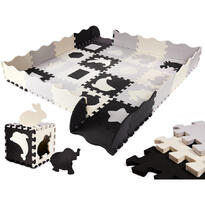 Covor puzzle cu laterale 36 piese Ikonka IK17565