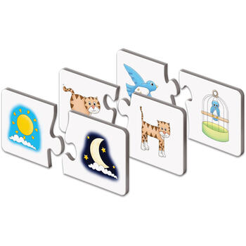 THE LEARNING JOURNEY Puzzle Potriveste Lucrurile Opuse