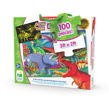 THE LEARNING JOURNEY Puzzle Straluceste In Intuneric - Dinozauri