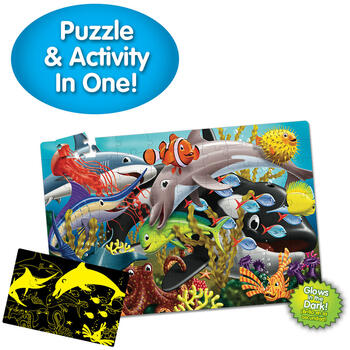 THE LEARNING JOURNEY Puzzle Straluceste In Intuneric - Viata Marina