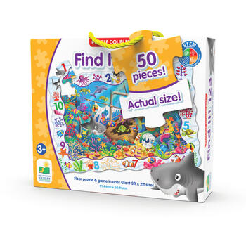 THE LEARNING JOURNEY Puzzle Si Joc 123