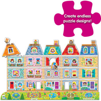 THE LEARNING JOURNEY Puzzle Creeaza-ti Propriul Cartier