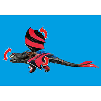 Playmobil Dragons Cursa Dragonilor: Hiccup Si Toothless