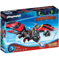 Dragons Cursa Dragonilor: Hiccup Si Toothless
