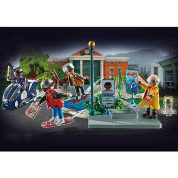 Playmobil Inapoi In Viitor - Cursa Pe Hoverboard
